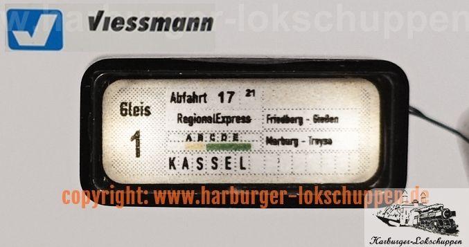 Viessmann N 1897 Zugzielanzeiger mit LED-Beleuchtung