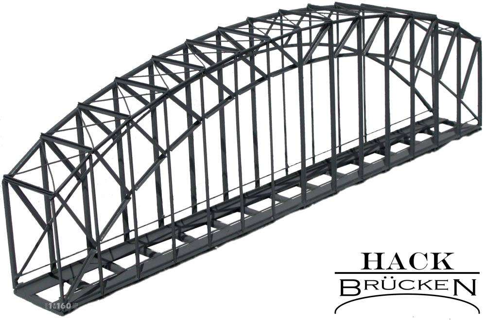 NEU Fischbauchbrücke Spur N Hack Brücken BN24