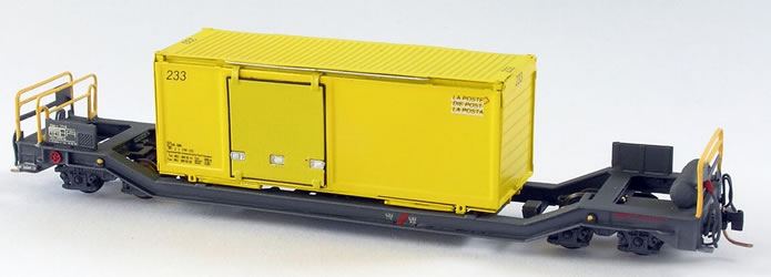 AB-Modell: Container Tragwagen