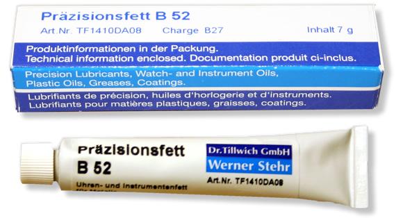 Dr.Tillwich Präzissionsfett B 52  7g NEU Modellbahn-Fett