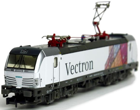 Test des modells der siemens vectron br 191 br 193 von hobbytrain